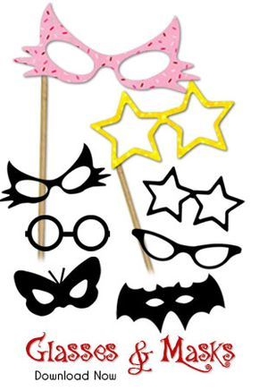 Bachelorette Party Wedding Baby Shower 10 pieces Birthday Photo booth Prop Mouth Photo Booth Props Ready to use for Birthday Wedding Photo Booth props sweet sixteen for any Party or any event
