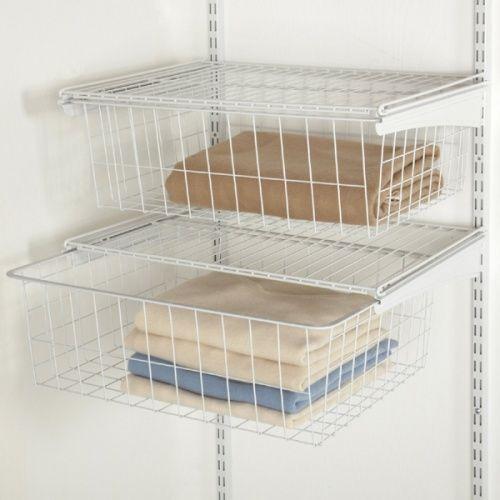 2814 2 Drawer Shelftrack Kit Bedroom Storage Shelving Accessories Drawers