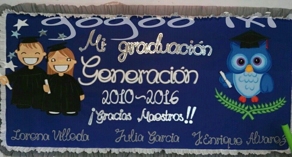Periodico mural graduacion mis trabajos pinterest for Decoracion 9 de julio secundaria