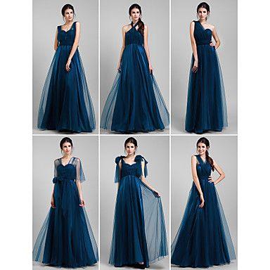 Lanting+Mix&Match+Convertible+Dress+Floor-length+Tulle+A-line+Dress+(1739560)+–+USD+$+79.99