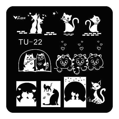 TU-22 Stamping plate - found on aliexpress.com | Nail Art Stamping ...