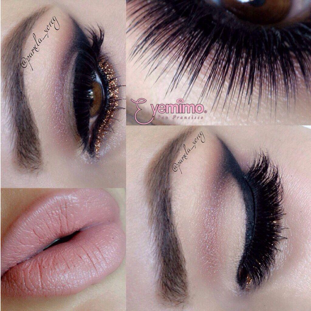 #Eyemakeup inspiration by @pamela_xoreg wearing our #falsie style #GLM13 _________________________________  ⒮⒣⒪⒫ ⒫⒭⒪⒟⒰⒞⒯⒮ ⒜⒯ www.shopeyemimo.com/falseeyelashes-glm13