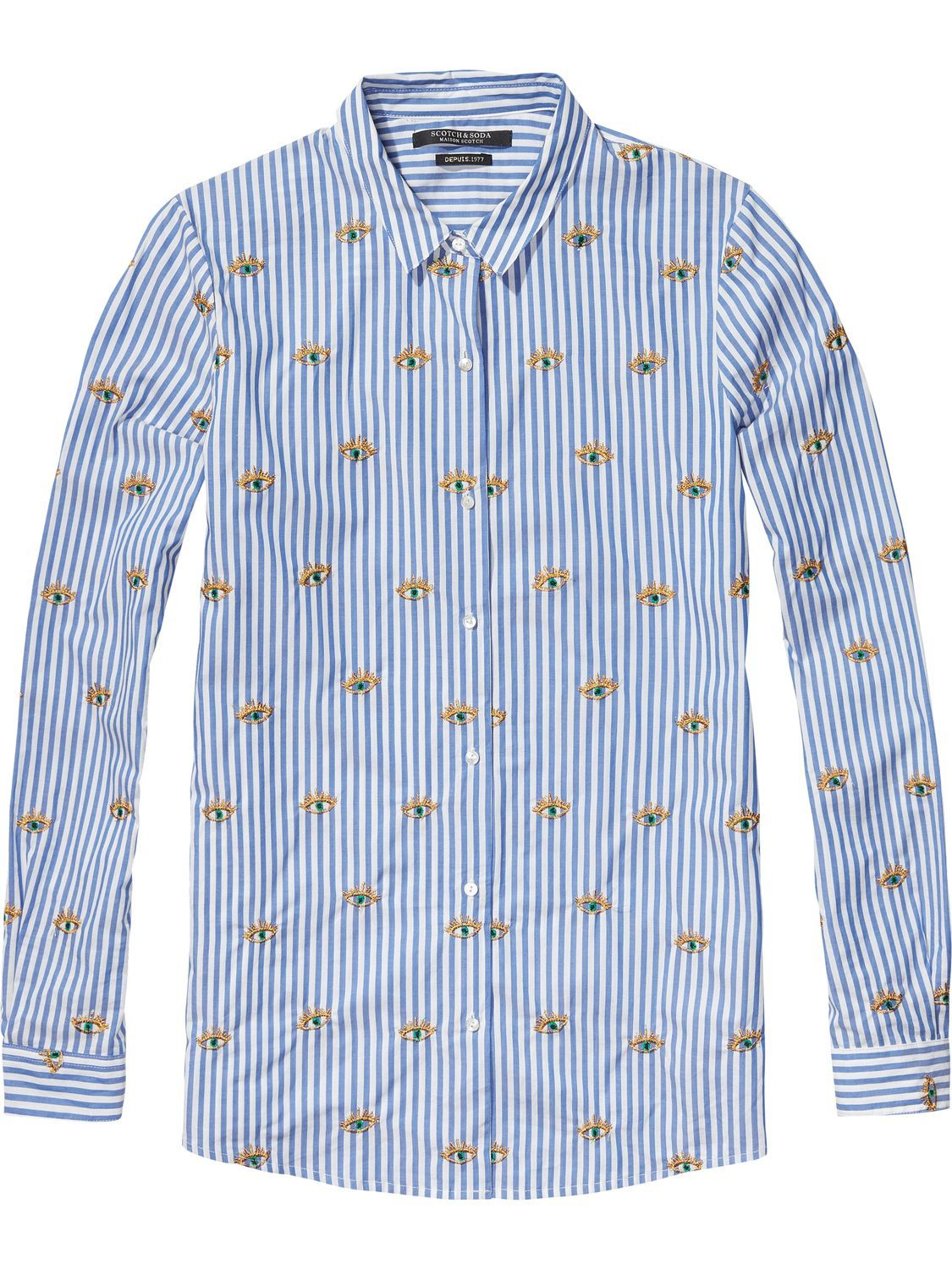Now available: Embroidered Shirt Scotch & Soda
