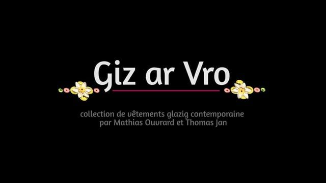 Teaser de la collection de vêtements glazig contemporaine par Mathias Ouvrard et Thomas Jan