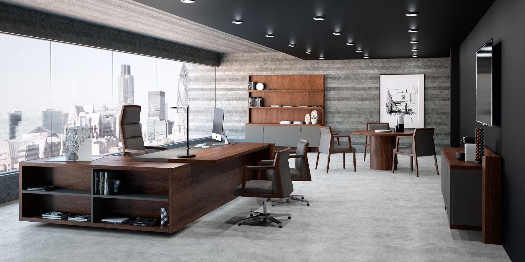 Freeport Panorámica Despacho Alta Dirección Ofifran Muebles De Oficina Modernos Diseño De Interiores Oficina Oficinas De Diseño