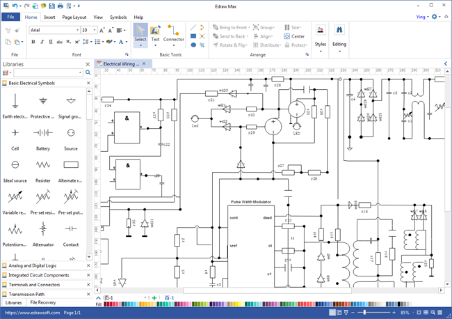 Schematics Maker Circuit diagram, Schematic design