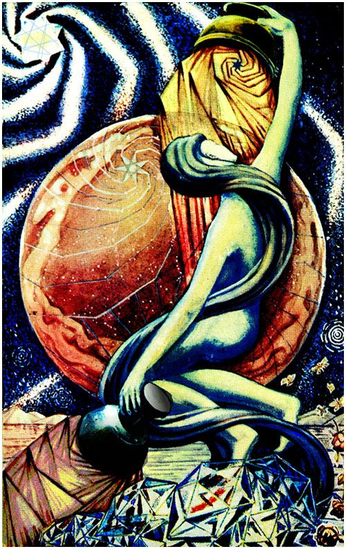 On The Breeze: Court Cards in the Thoth Tarot | Interesting