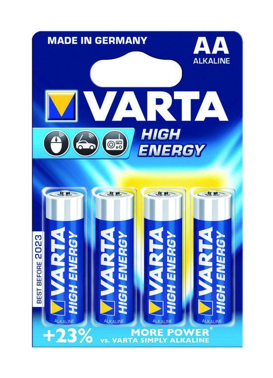 Varta Batterijen Penlite Type Aa 1 5volt 4stuks Kopen Vergelijk En Vind De Laagste Prijs En De Beste Aanbieder High Energy Alkaline Battery Batteries