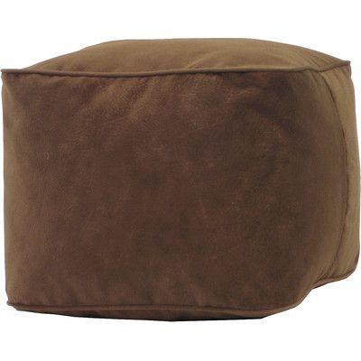 Gold Medal Bean Bags Bean Bag Chair Upholstery: Cocoa, Size: Medium