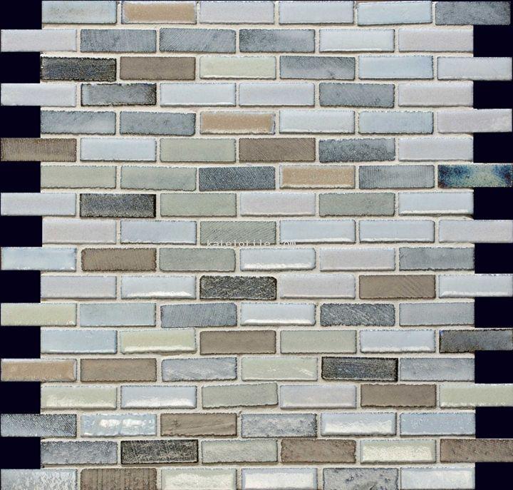 Lavastone Sri Lanka 0 5x2 Milstone Lavastone Mosaics Natural Stone Tile Ceramic Tiles Sparkly Tiles