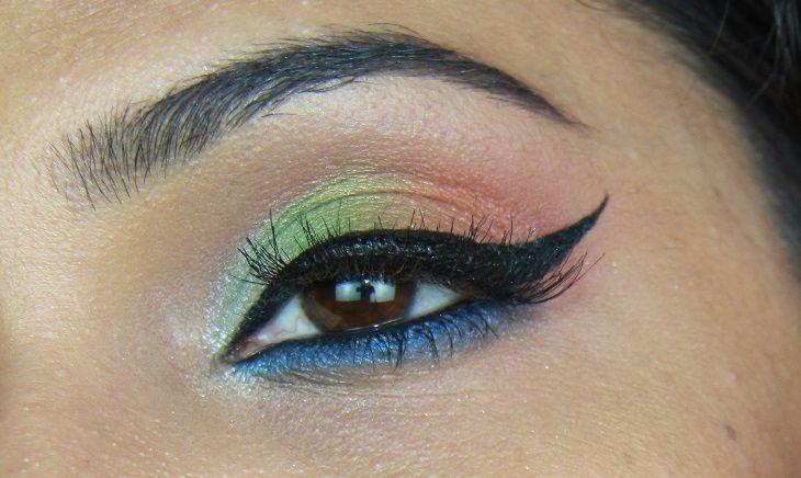Independence Day Makeup Tiranga Makeup Indian Flag Makeup Day Makeup Day Eye Makeup Makeup