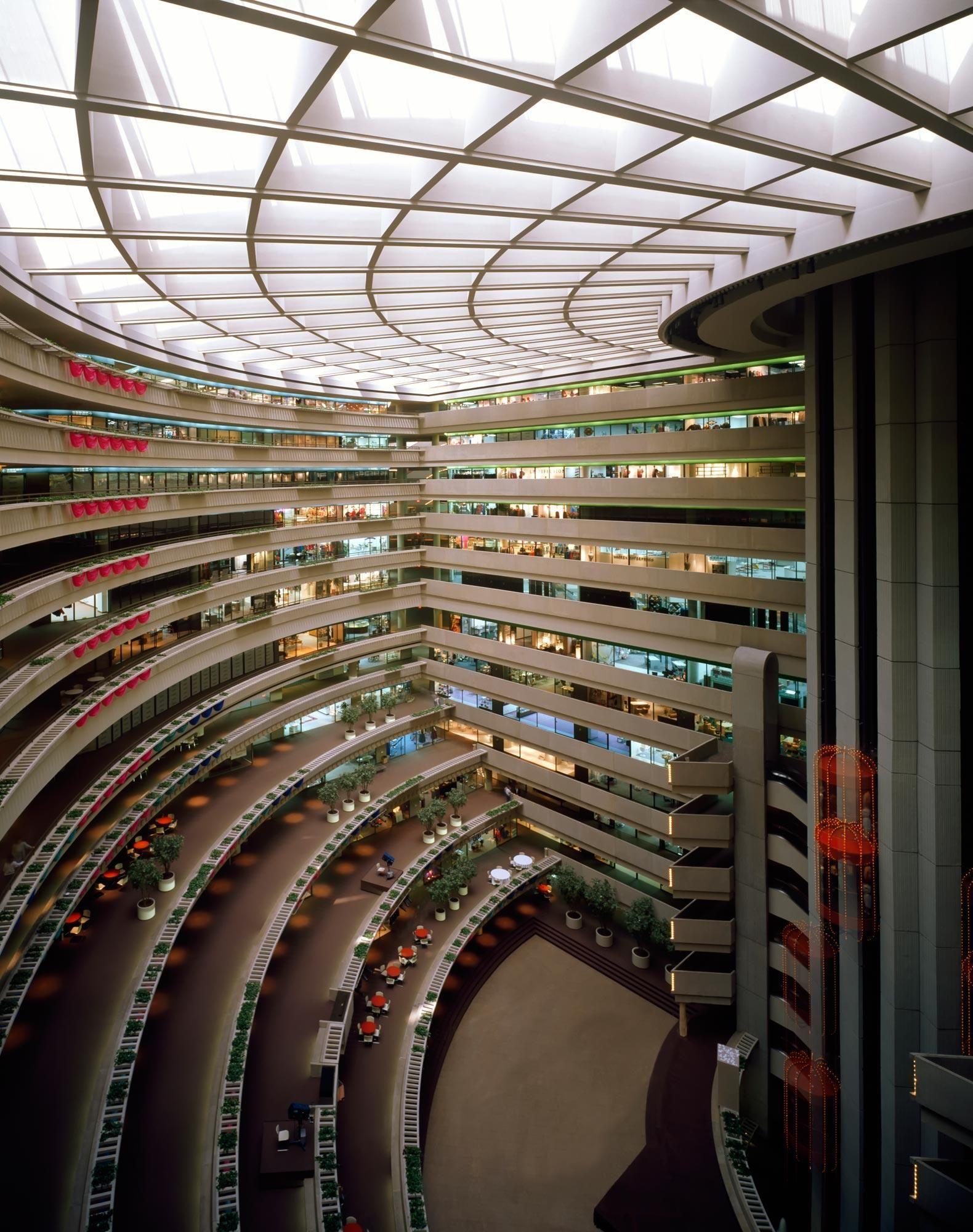 The Apparel Mart John Portman S First Architecture Architect Atlanta Market