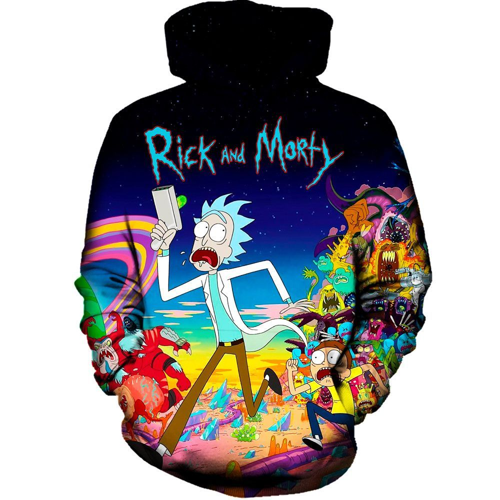 3e741e91 Our rick and morty run hoodie will make you fall in love with this awesome  cartoon all over again. This hoodie will be like glue and you will never  want to ...