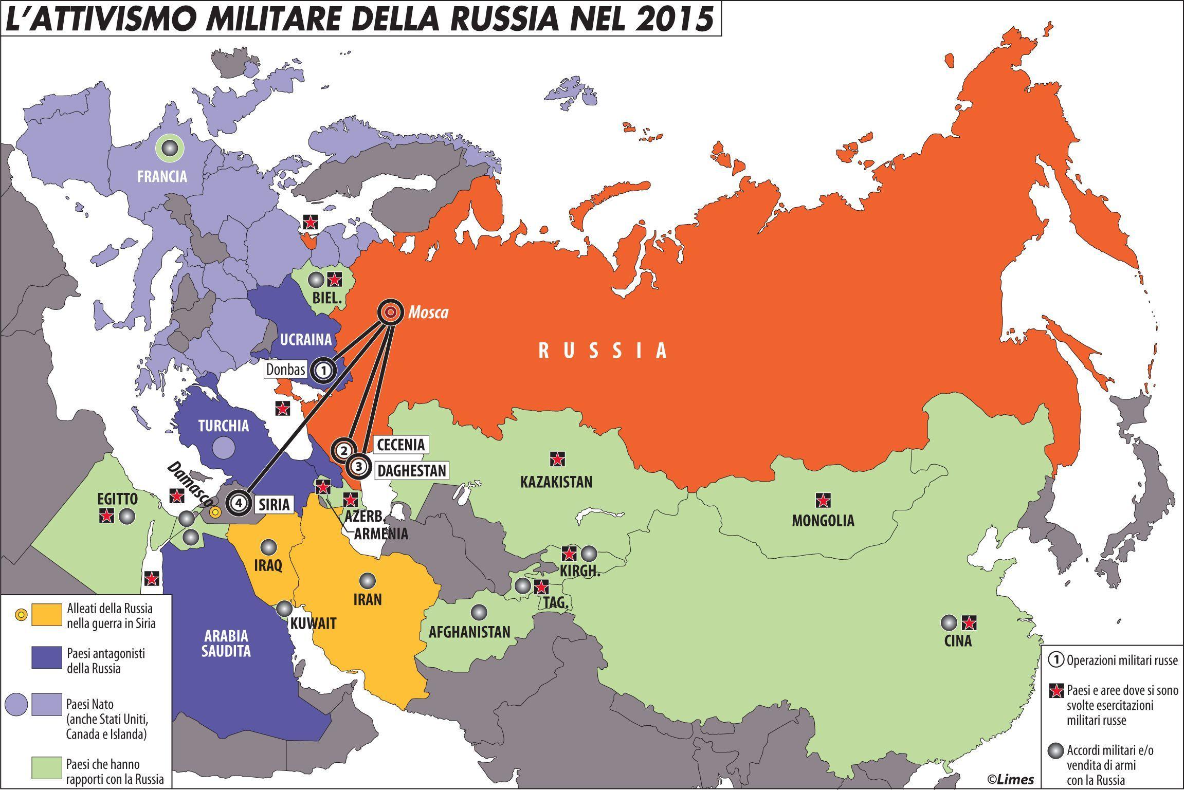 La Rinascita Della Superpotenza Russa La Federazione