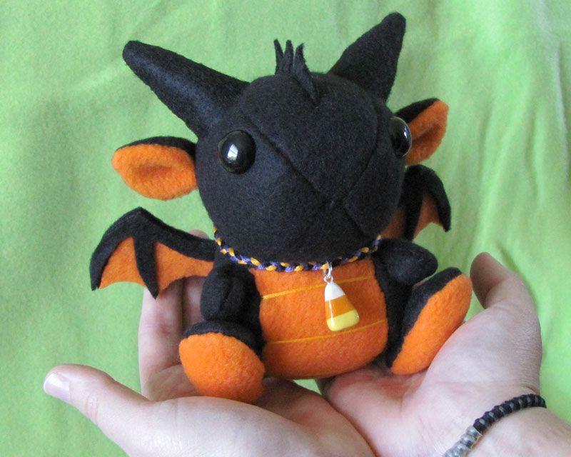 Halloween Dragon Plushie 2 by DragonsAndBeasties.deviantart.com ...