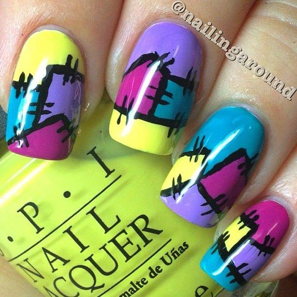 nail #nails #nailsart | Nails! | Pinterest | Puntadas, OPI y Instagram