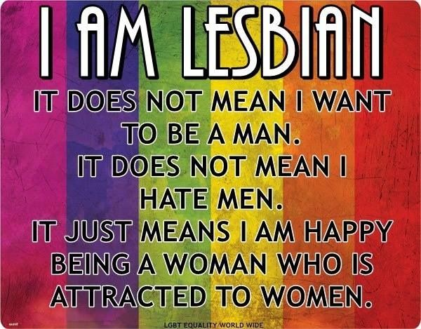 true! #rainbowlove #lesbian I kind of do hate men though. Well actually just people in general