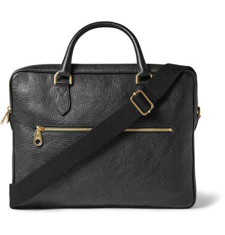 bb6d3d4951b2 MULBERRY Heathcliffe Full-Grain Leather Briefcase £749.37 / Approx. AUD  $1,192.39 Кожаный Портфель