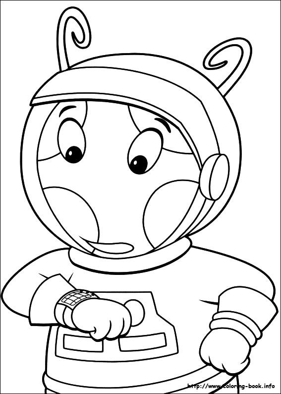 Backyardigans coloring picture | Coloring Pages | Pinterest