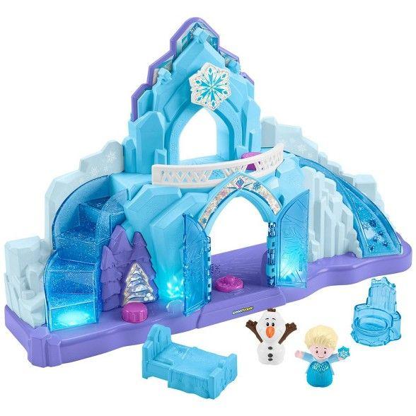 Fisher-Price Little People Disney Frozen Elsa's Ice Palace | Disney frozen toys, Frozen toys ...