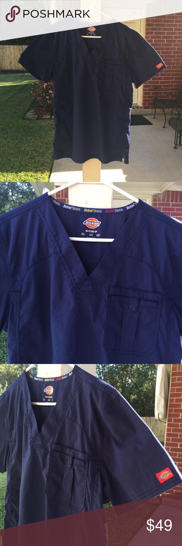 NEW Dickies blue nursing scrub uniform small PS Brand New