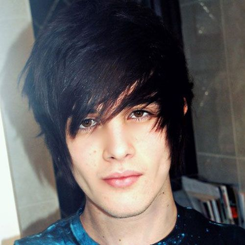 Emo Hairstyles For Guys Emo Emo Hairstyles And Short Hairstyle - Emo hairstyle boy pic