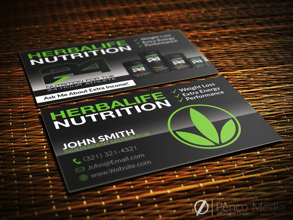 Custom Herbalife Business Card Design #1 #herbalife | Herbalife ...