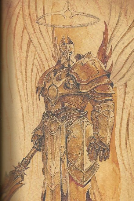 Imperius | Fantasy and Sci-fi Armor | Diablo, Angel warrior