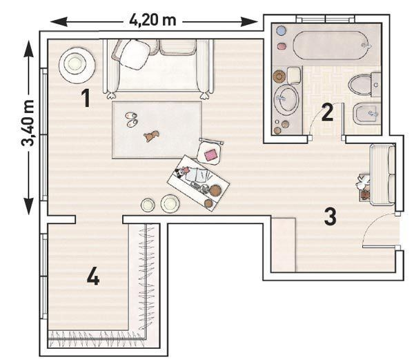 Plano Habitacion Con Bano Y Vestidor Buscar Con Google Planos
