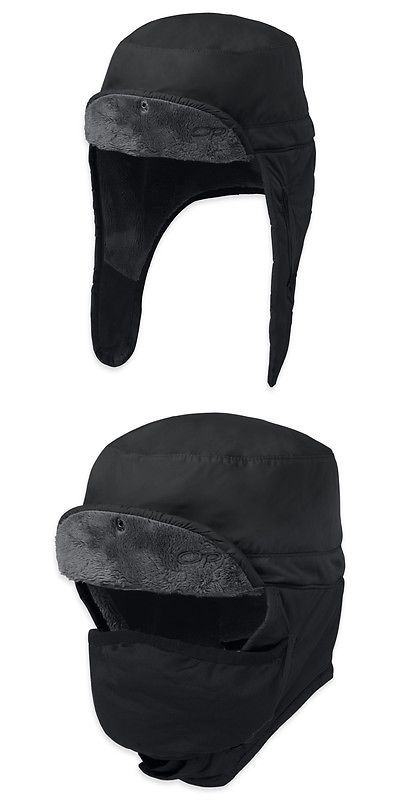 Hats and Headwear 159035: Outdoor Research Frostline Black Hat (82045-001) BUY IT NOW ONLY: $49.99