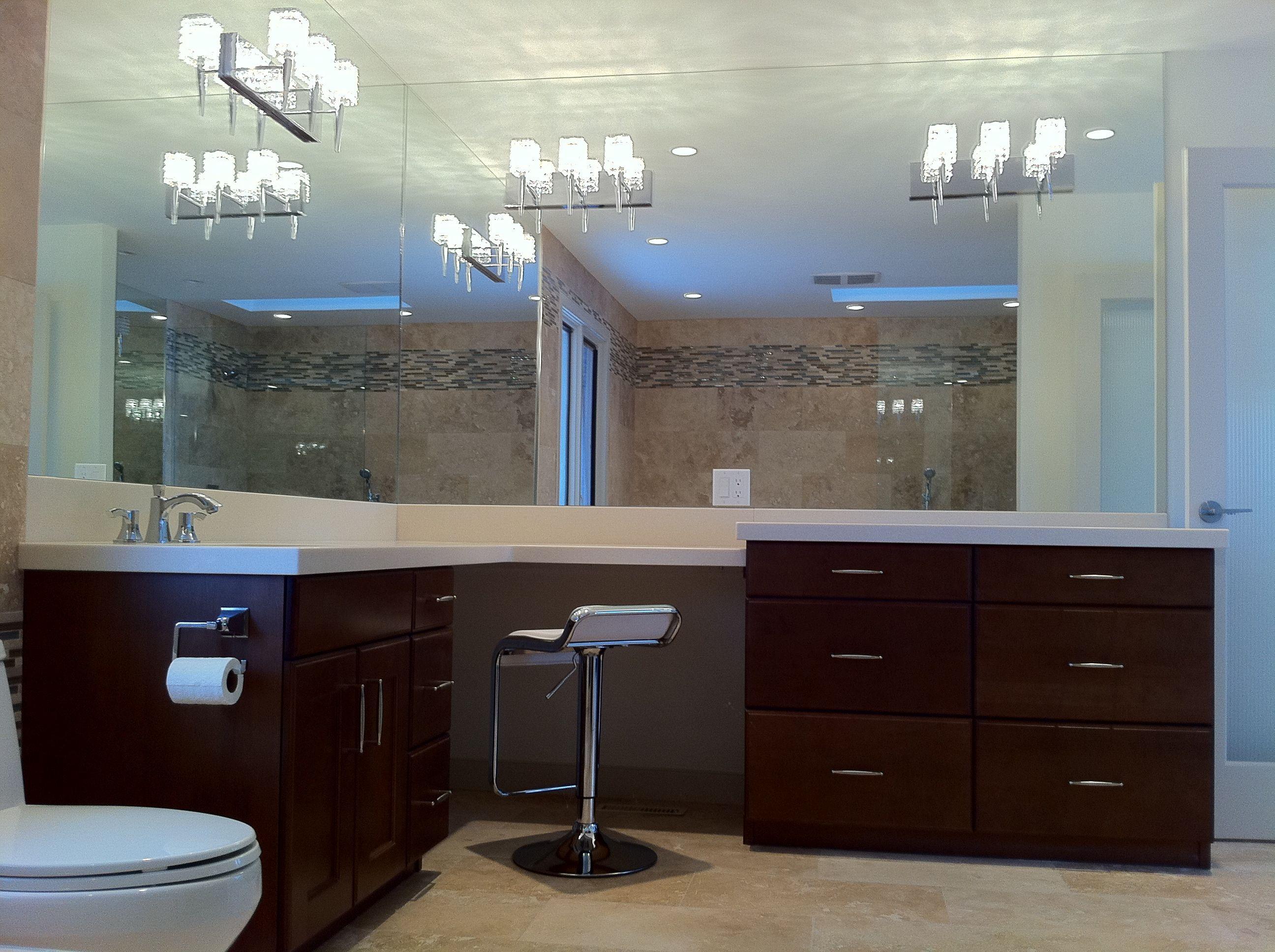 Calgary bathworks calgary bathroom renovations bathroom gallery - Makeup Vanity Bathroom Renovation