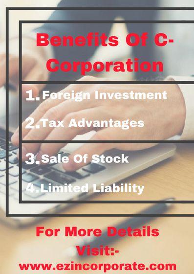 C Corporation Formation Services Ez Incorporate C Corporation