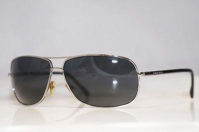 346ad60019ac GIORGIO ARMANI Mens Designer Sunglasses Silver Aviator GA 362 6LBAH 15713 ( eBay Link)
