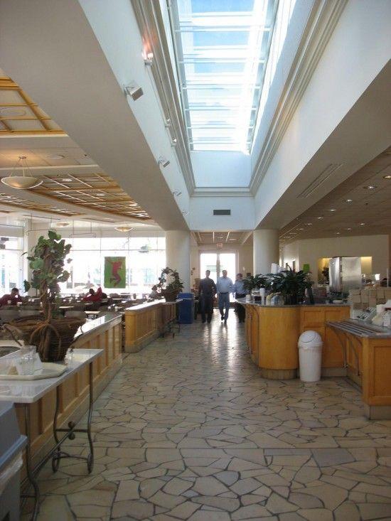 Apple HQ, cafeteria.