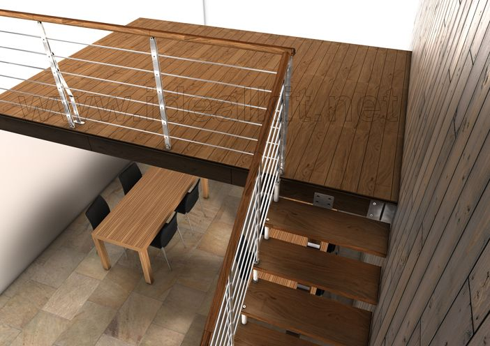 Altillos de madera Altillos de madera, Piso de madera y