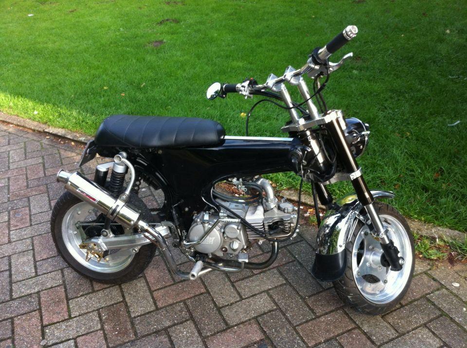 Dax 200 Cm3 Dax Bike Honda