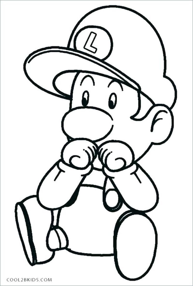 Cute And Complete Super Mario Coloring Pages Mario Coloring Pages Coloring Pages Inspirational Easy Coloring Pages