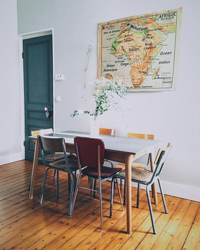 Salle à manger vintage - Marie Claire Maison