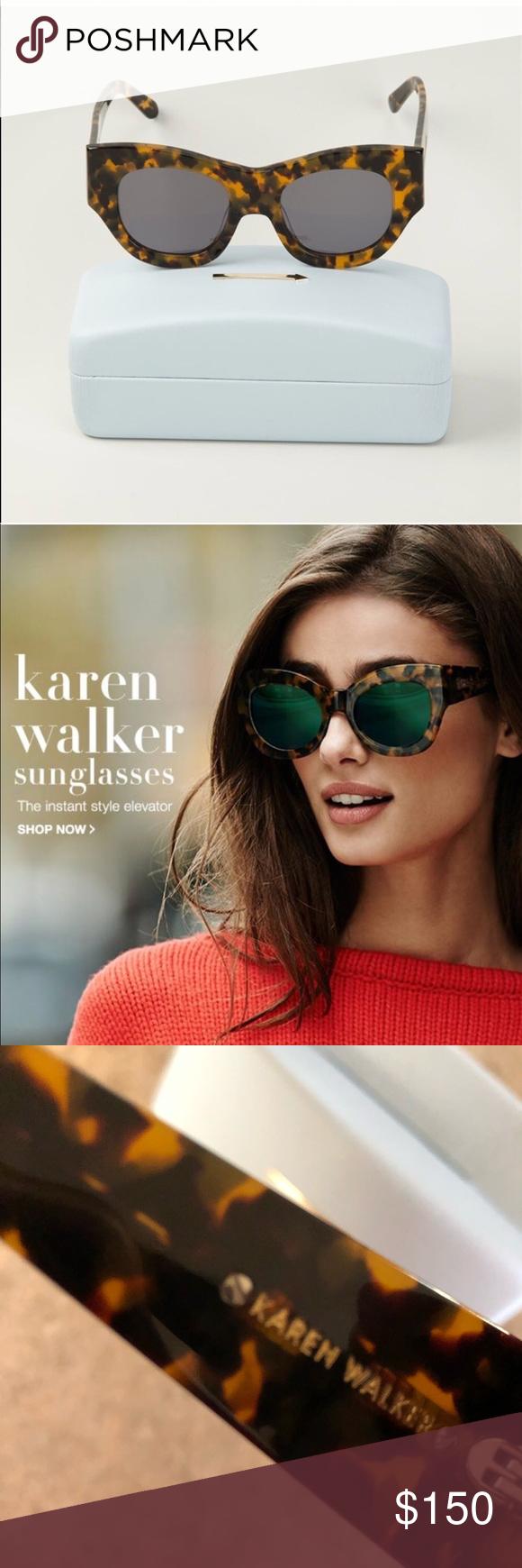 df53f75e02 Karen Walker  Faithful  glasses Zero damage. Pristine condition. Comes with  case.