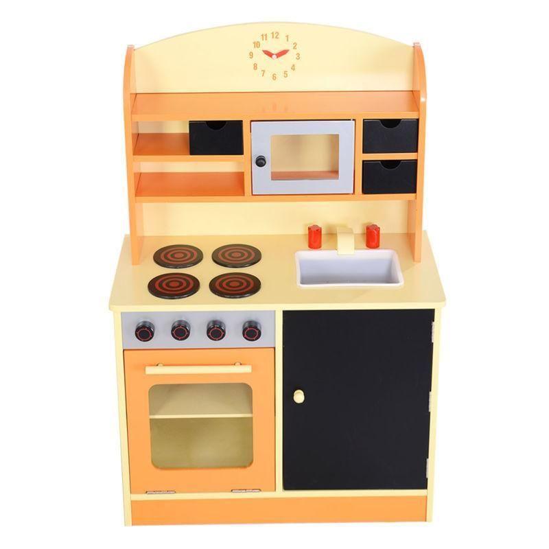Kitchen Toy Kids Cooking Pretend Play