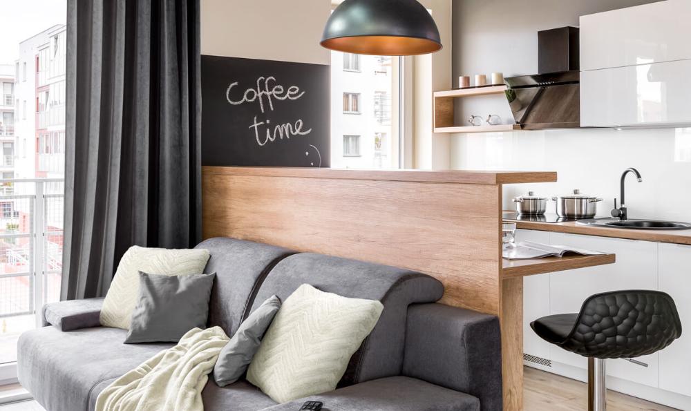 Salon Z Aneksem Kuchennym 20m2 Home Decor Home Furniture