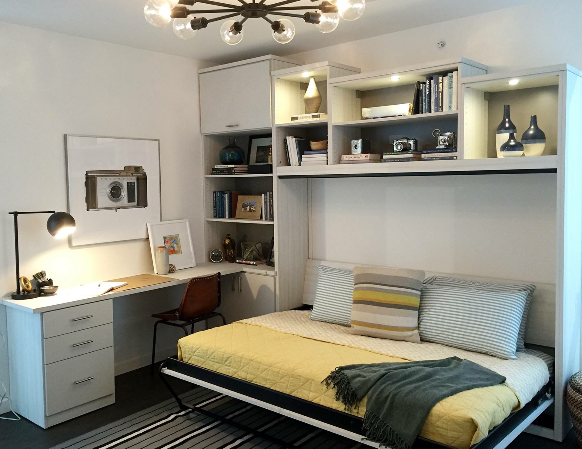 A small and stylish space is made ultra efficient by