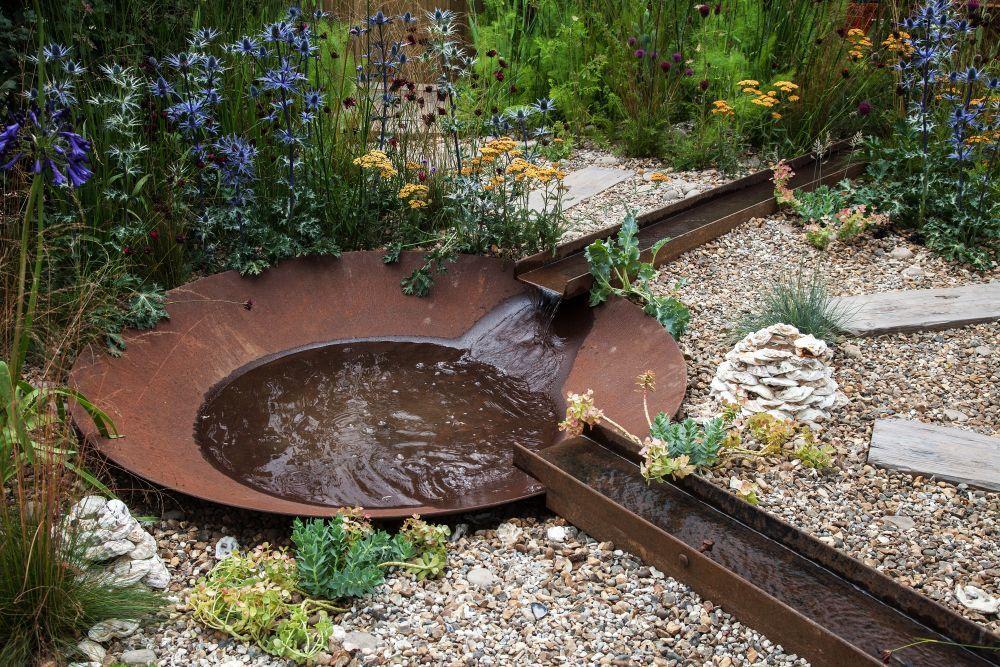 So verbessern Sie Ihre Landschaft mit Wasserfällen im Hinterhof #waterfeatures