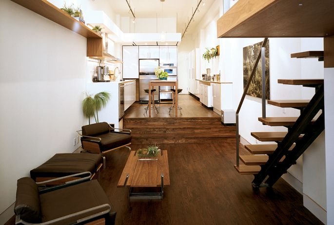 10x Open Boekenplanken : Smart.space :: avroko :: sunk in livingroom spaces pinterest
