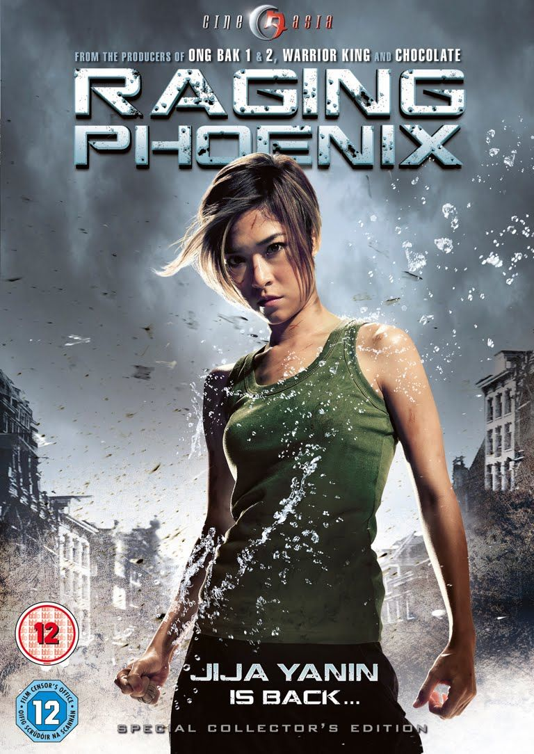 Dvd Pick Of The Week Raging Phoenix Martial Arts Movies Asian Action Movies Tony Jaa
