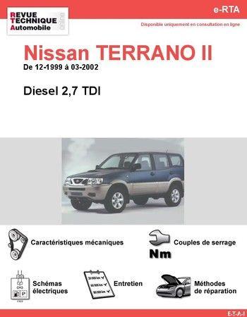 revue technique nissan terrano ii diesel 4x4 pinterest nissan terrano nissan y nissan. Black Bedroom Furniture Sets. Home Design Ideas