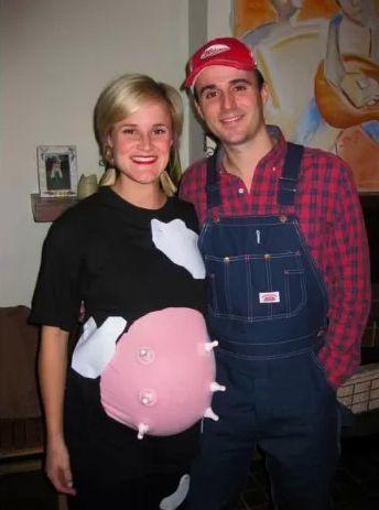 a875f799c9a1078a0fc01c176e71b2e9jpg (344×463) Maskerad/Costume - pregnant couple halloween costume ideas