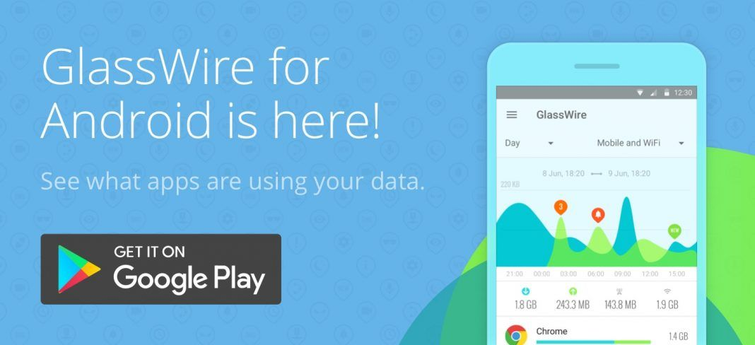 Glasswire Apk Android, Android smartphone, Google play store