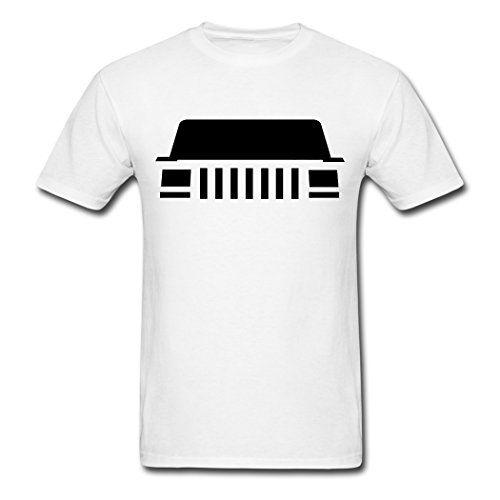 Unisexfit Men S Jeep Cherokee Xj Front T Shirt Jeep Xj Jeep