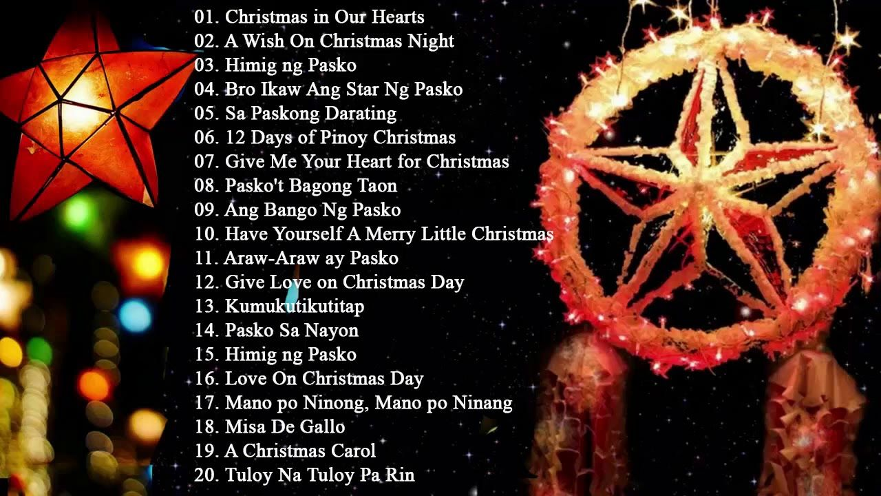 Paskong Pinoy The Best Christmas Songs Medley NonStop